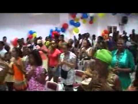 ANIVERSARIO DA IGREJA APOSTÓLICA MUNDIAL EM CABO VERDE  12\09\2010