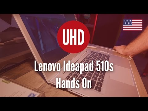 Lenovo Ideapad 510s Hands On [4K UHD]