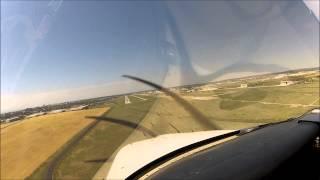 GoPro [HD] | Gusty Crosswind Landing | Cirrus SR22 | Centennial, CO
