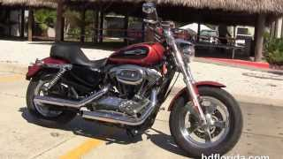 1. Used 2011 Harley Davidson Sportster 1200 Custom Motorcycles for sale in Tampa