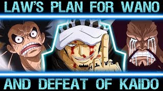 Download Video Law's Master Plan to Defeat Kaido in Wano (One Piece Major Theory Explained Chapter 900+) MP3 3GP MP4