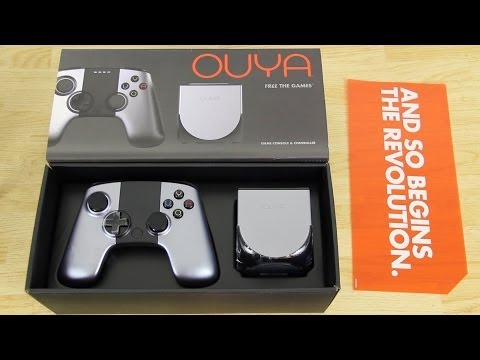 OUYA Unboxing and Setup!