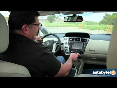 2012 Toyota Prius v: Video Road Test and Review