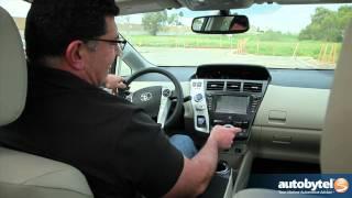 2012 Toyota Prius V Test Drive&Hybrid Car Review
