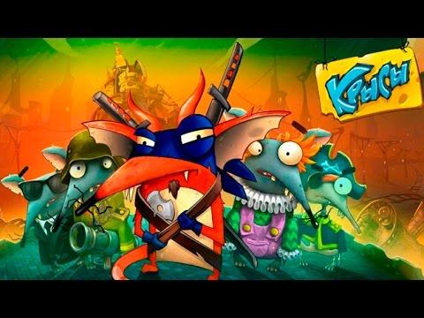 Крысы Онлайн - #1 Обзор игры и первые победы:) Игра как мультик, смешное видео, let's play.