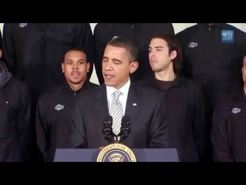 President Obama Honors the Los Angeles Lakers Part 1