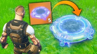 NEW INVISIBLE JUMP PAD..?! |Fortnite Funny and Best Moments Ep.100 (Fortnite Battle Royale)