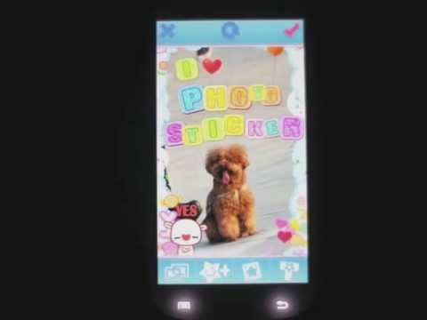 Video of My Photo Sticker HD