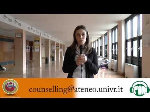 Lisa Conforto, direttirce di COSP, presenta l'attività di counselling