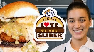 Chef Tanya's Cajun White Castle Burger - Chicago | For the Love of the Slider
