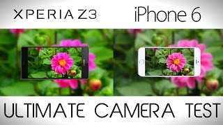 Video Sony Xperia Z3 vs iPhone 6 - Camera Comparison Test MP3, 3GP, MP4, WEBM, AVI, FLV September 2017