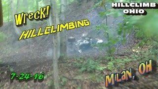 Milan (OH) United States  City pictures : [HILLCLIMB OHIO]7-24-16 Hillclimbing/Riding/Wreck at Milan, oh