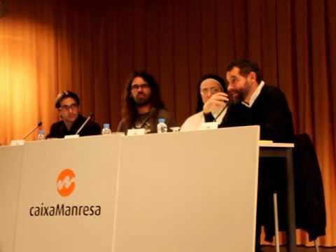 Presentació d''El Desig essencial', de Xavier Melloni, a Manresa