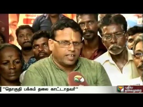 Mayilai-Sathya-opposes-announced-candidate-for-Mayilapoor