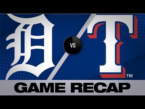 Video: Lynn twirls gem in Rangers' 5-4 win | Tigers-Rangers Game Highlights 8/2/19