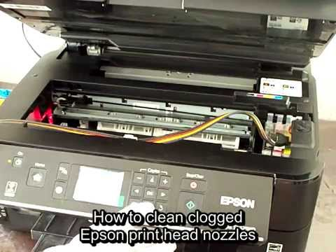 how to unclog printer heads
