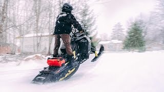 4. New MBRP Trail Can Comparison SKI DOO 850 etec