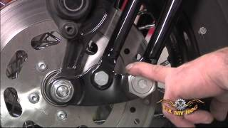 8. Harley Davidson Maintenance Tips: Softail/Dyna - Springer Front End Inspection