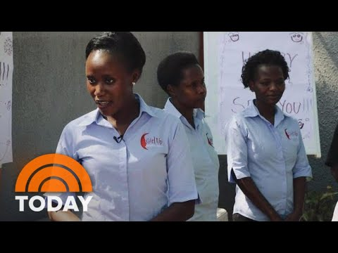 Jenna Bush Hager Meets The Remarkable Woman Behind 'Girls Up Uganda' | TODAY