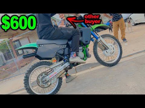 buying a CHEAP DIRT BIKE off CRAIGSLIST