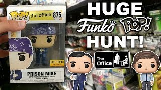 HUGE Funko Pop Hunt! (More The Office Pops, Exclusives)
