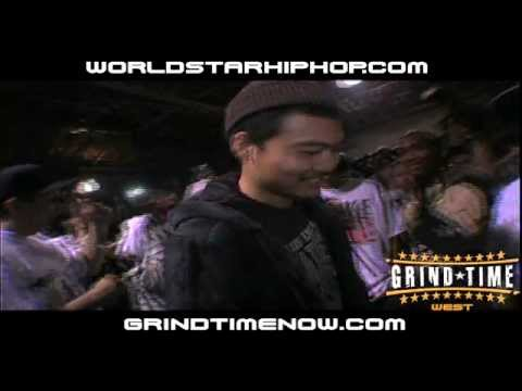 GrindTimeNow.NET: Dumbfoundead vs The Saurus Pt.1 (2009)