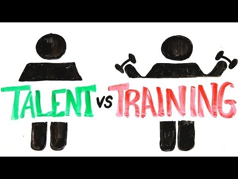Training - Which is more important - genetics or hard work? DAILY EPISODES, answering your burning questions. Watch 5 episodes before anybody else: http://bit.ly/1n5llR...