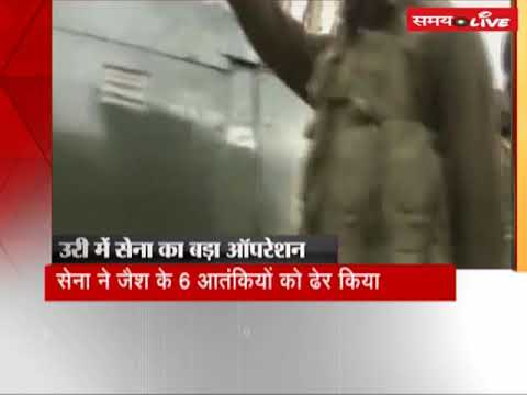 Army thwarted the attempt of infiltration and killed 6 terrorists in J&K