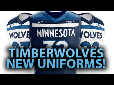 MINNESOTA TIMBERWOLVES NEW UNIFORMS! | COMPLETE REBRAND
