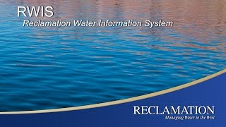 The Reclamation Water Information System (RWIS) is a pilot version of a Reclamation-wide system for viewing, accessing, and downloading Reclamation's water data via a centralized portal. The RWIS pilot serves representative time-series water data from each Reclamation region. With the RWIS pilot you can: locate Reclamation sites and access current and historical water data by browsing an interactive map; search for water data by location or data type with the query tool; get machine readable water datasets to use as input for your models and analyses via manual downloads or automated data exchange via web service and the web service/API URL to feed data to your own applications. To try RWIS visit our website: https://water.usbr.gov