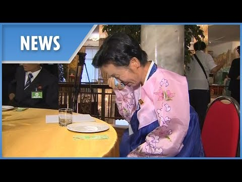 South And North Korean Relatives Reunite