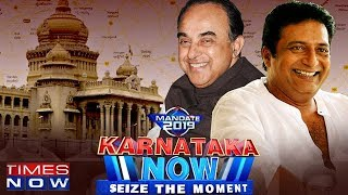 Video Subramanian Swamy VS Prakash Raj #KarnatakaNow | Times Now Exclusive MP3, 3GP, MP4, WEBM, AVI, FLV Desember 2018