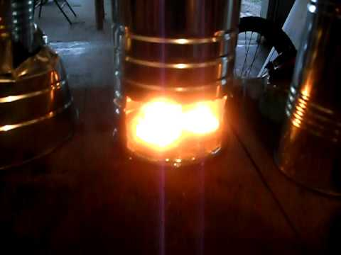 Tea Candle Stove/Coffee maker