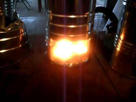 Tea Candle Stove/Coffee maker