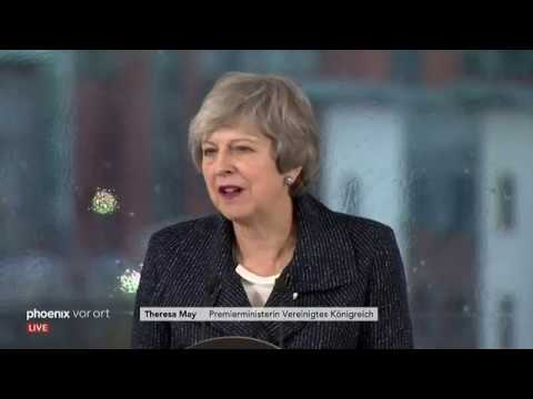 Rede von Theresa May in Nordirland zum Brexit
