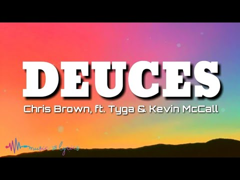 Chris Brown -Deuces (Lyrics) Ft. Tyga & Kevin McCall | TikTok Song | Deuces TikTok
