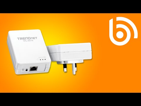 TRENDnet TPL-401E2K HomePlug Kit