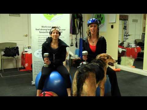 Woof-fit Mini Triathlon Announcement with Jennifer Goodman and Joanne Cooper