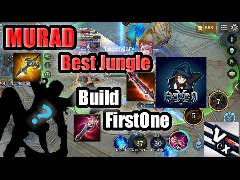 Rov : Murad Jungle Best Build Firstone Gameplay #22