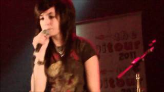 Christina Grimmie live @Gramercy Theater Digitour 5/1, 2011 Perfect, and Telephone