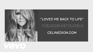 Teaser Video - Loved Me Back to Life