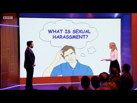 A handy guide to what actually constitutes sexual harassment by Rachel Parris. The Mash Report