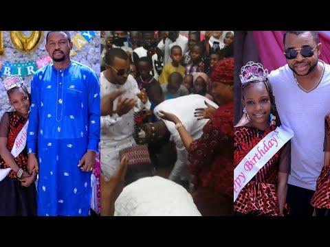 Kalli Yadda Sani Danja Da Matarsa Mansura Isa Suka Danse A bikin Birthday'n 'Yar Yakubu Mohammed 🤣