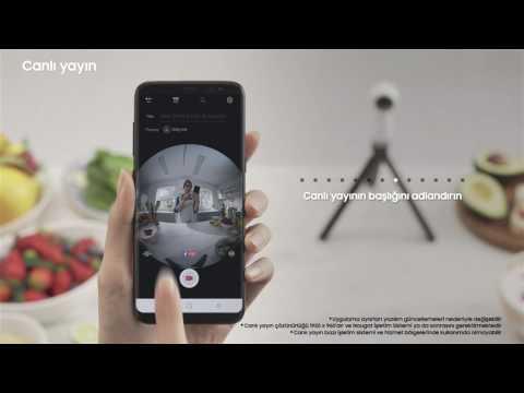 Samsung Gear360 - Canlı Yayın