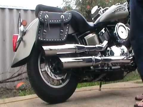How To Remove Baffles From A Yamaha Virago Cobra