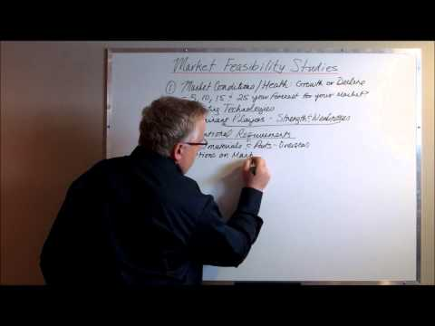 Watch 'Market Feasibility Study: More Important Than a Business Plan'