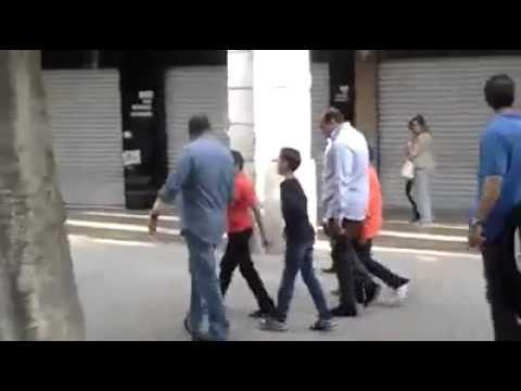 Le Roi Mohammed VI dans les rues de Tunis