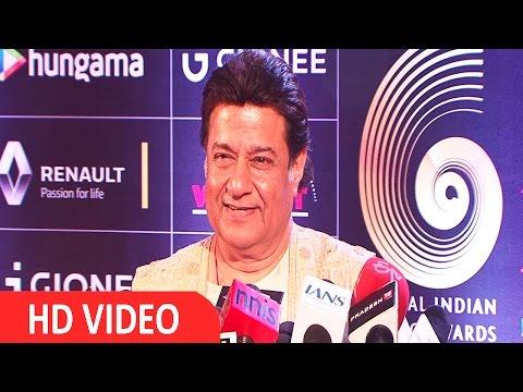 Anup Jalota At Red Carpet Of GIMA Awards