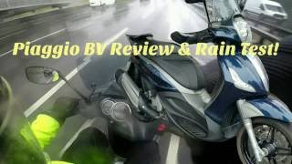 3. Piaggio BV350 review & rain test.