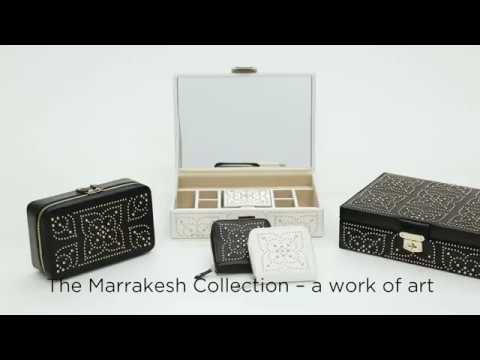 Marrakesh Safe Deposit Box, White